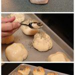 Garlic Mozzarella Rolls